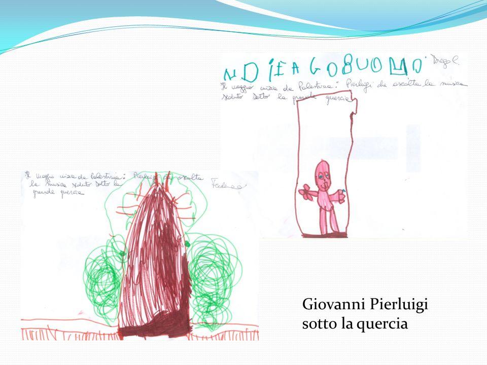 Giovanni Pierluigi sotto la quercia