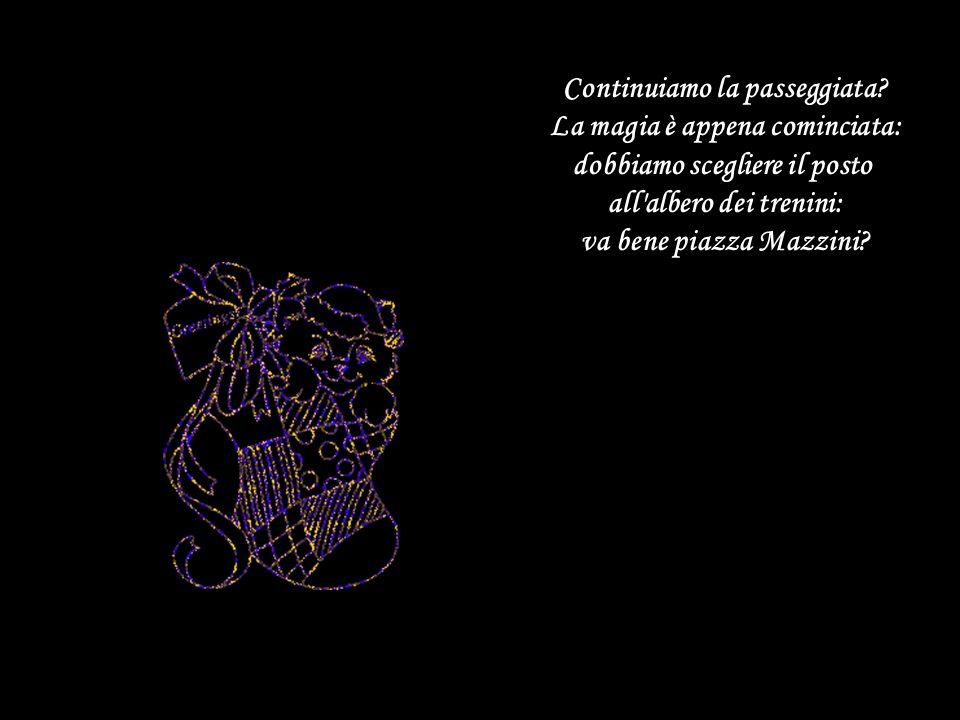 In piazza San Cosimato faccio crescere l'albero del cioccolato; in via del Tritone l'albero del panettone in viale Buozzi l'albero dei maritozzi, e in