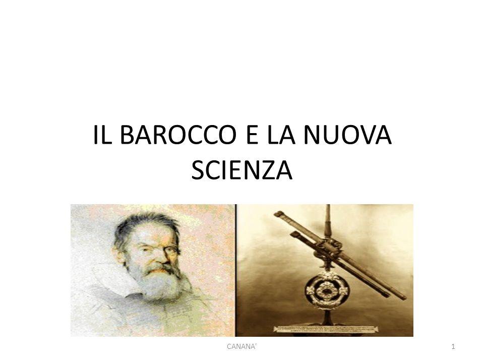 IL BAROCCO E LA NUOVA SCIENZA CANANA 1