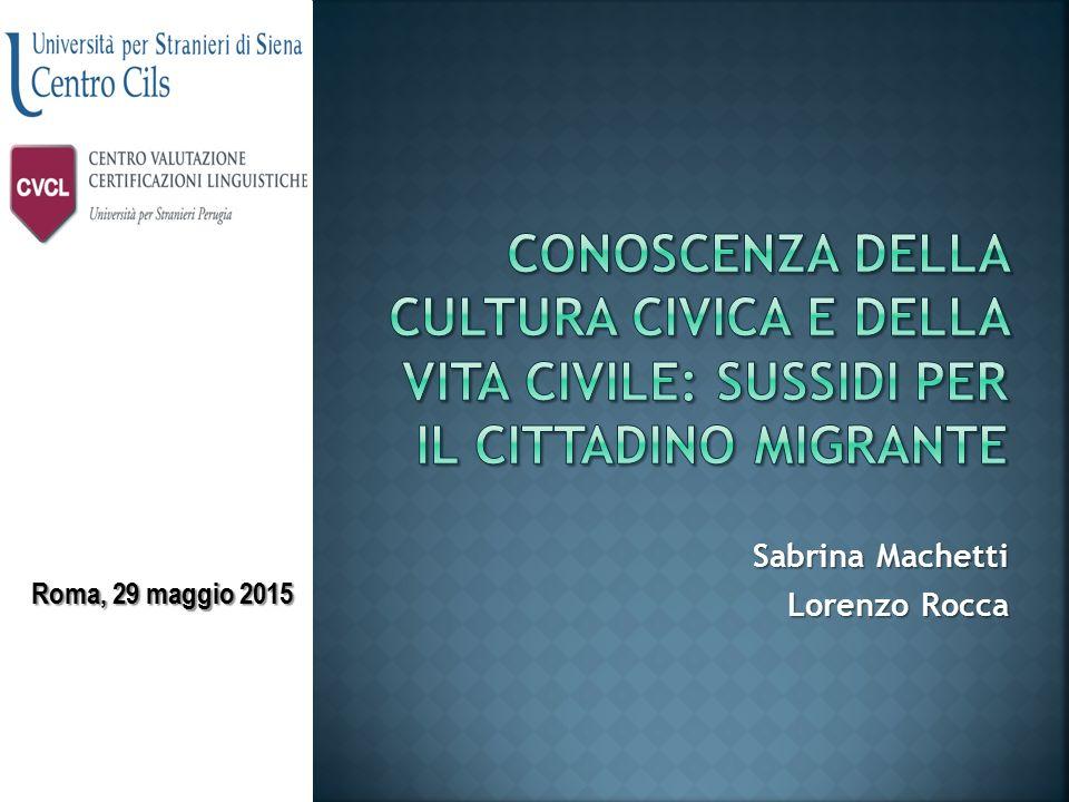 Sabrina Machetti Lorenzo Rocca Roma, 29 maggio 2015