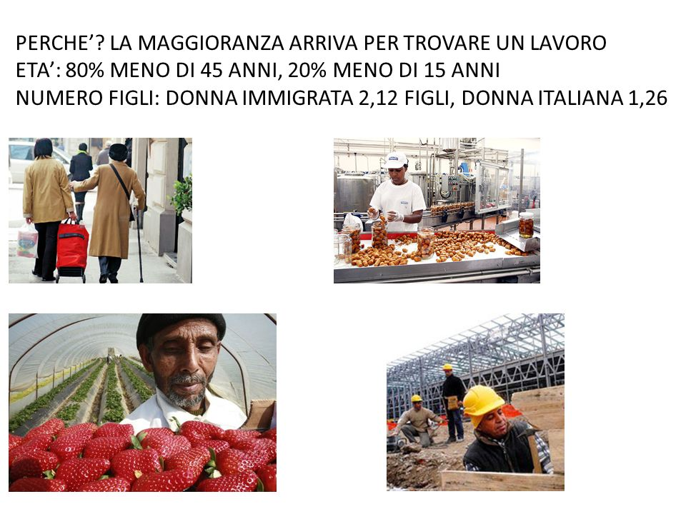 IMMIGRAZIONE IN ITALIA LEGALEILLEGALE VISTO PER LAVORO, STUDIO PERMESSO DI SOGGIORNO NIENTE VISTO PER I CITTADINI EU 15% ARRIVA VIA TERRA 75% CON VISTO TURISTICO DAGLI AEROPORTI 12% VIA MARE