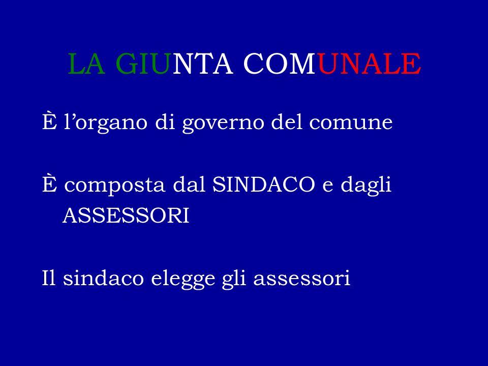 IL CONSIGLIO COMUNALE È l'assemblea pubblica che rappresenta i cittadini di un comune È composto dal SINDACO e dai CONSIGLIERI È eletto dai cittadini