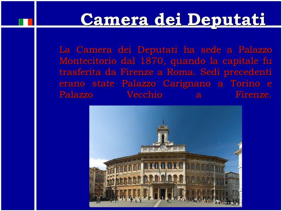 Il Parlamento Il Parlamento è composto da due rami: 1. Camera dei deputati (630 DEPUTATI (12 all'estero)) 2. Senato della Repubblica (315 SENATORI (6