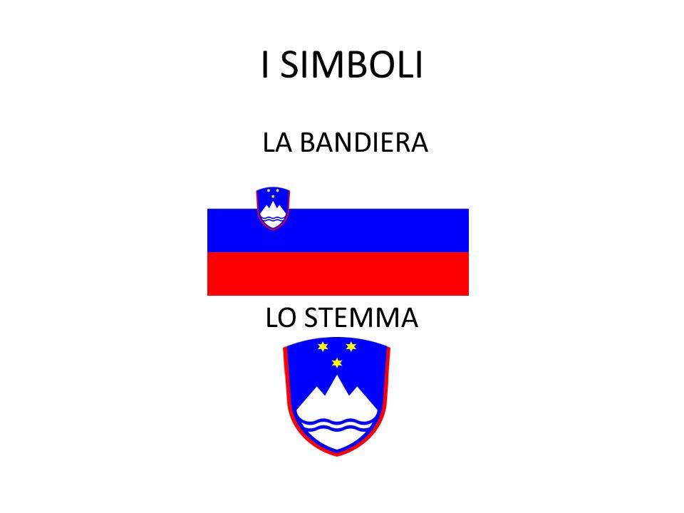 I SIMBOLI LA BANDIERA LO STEMMA