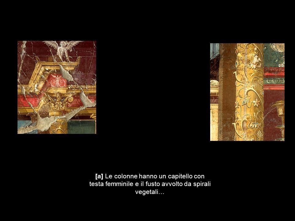 Le pareti vengono dipinte a tinta unita con larghe campiture, su cui compaiono piccole vedute, figurette sospese a mezz aria* quadri a soggetto mitologico o paesaggi d invenzione, che attirano l attenzione degli spettatori