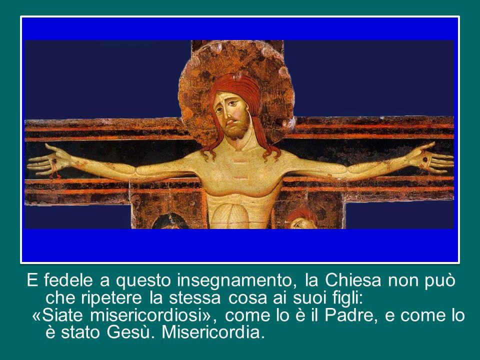 Lo dice chiaramente Gesù, riassumendo il suo insegnamento per i discepoli: «Siate misericordiosi, come il Padre vostro è misericordioso» (Lc 6,36).