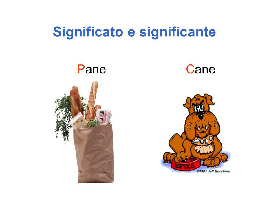 Significato e significante PaneCane