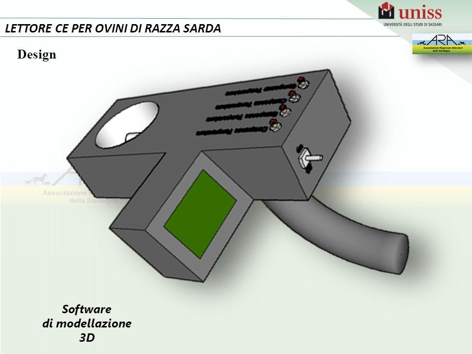 LETTORE CE PER OVINI DI RAZZA SARDA Design Software di modellazione 3D