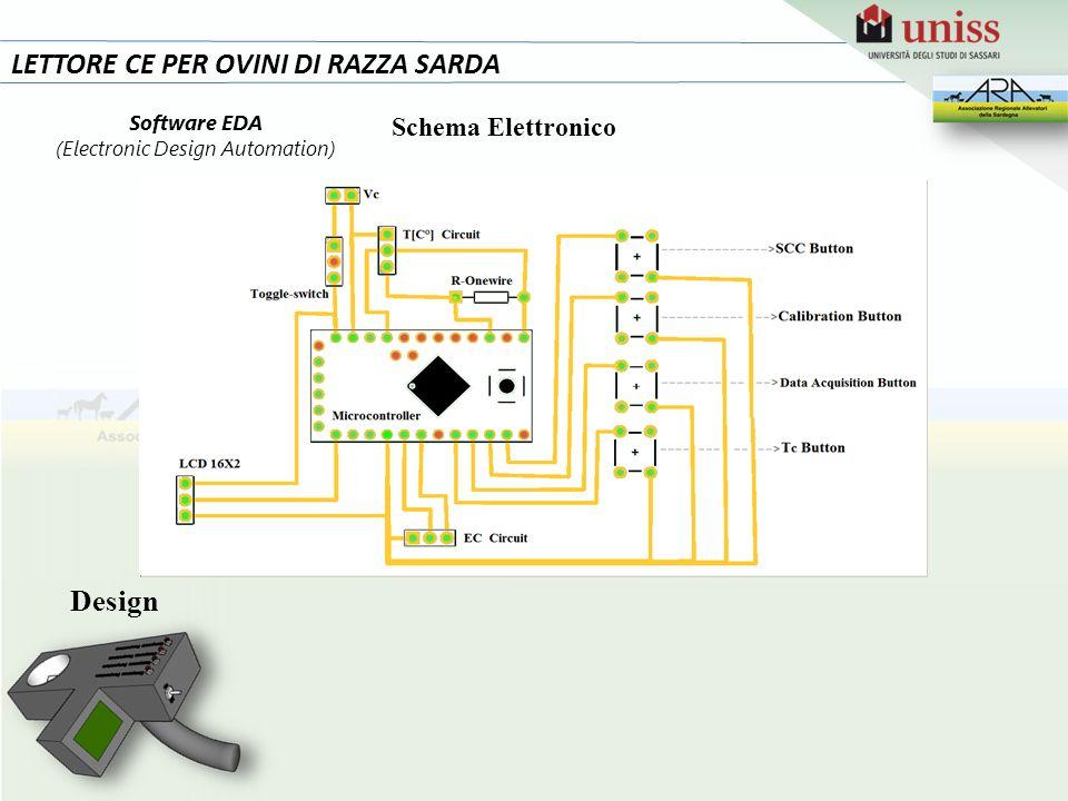 LETTORE CE PER OVINI DI RAZZA SARDA Design Software EDA (Electronic Design Automation) Schema Elettronico