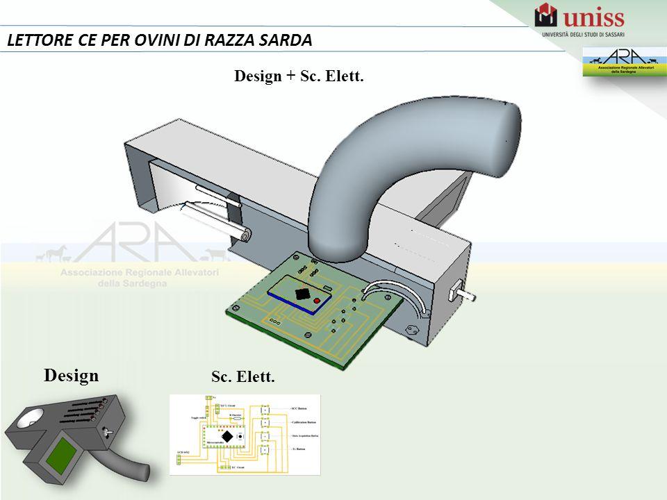 LETTORE CE PER OVINI DI RAZZA SARDA Design Sc. Elett. Design + Sc. Elett.
