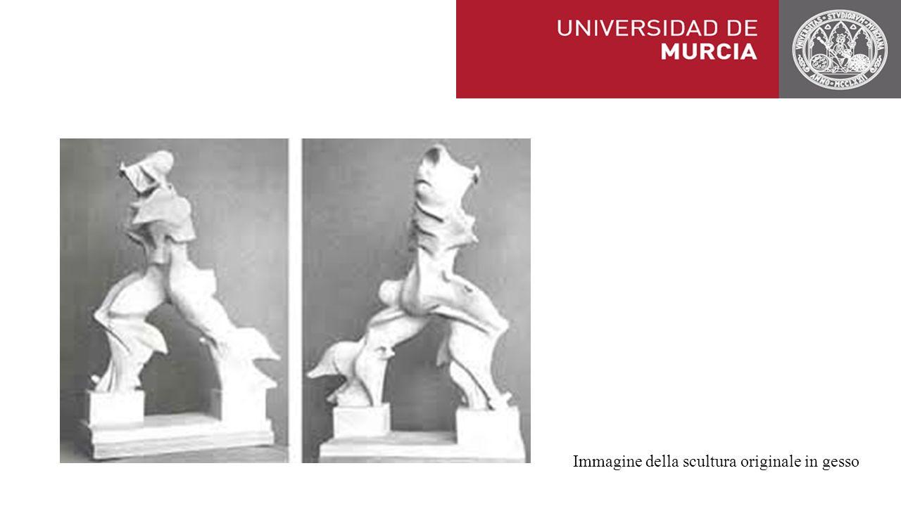 Immagine della scultura originale in gesso