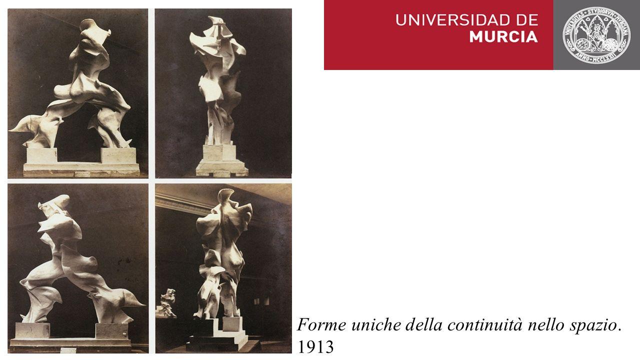 Forme uniche della continuità nello spazio. 1913