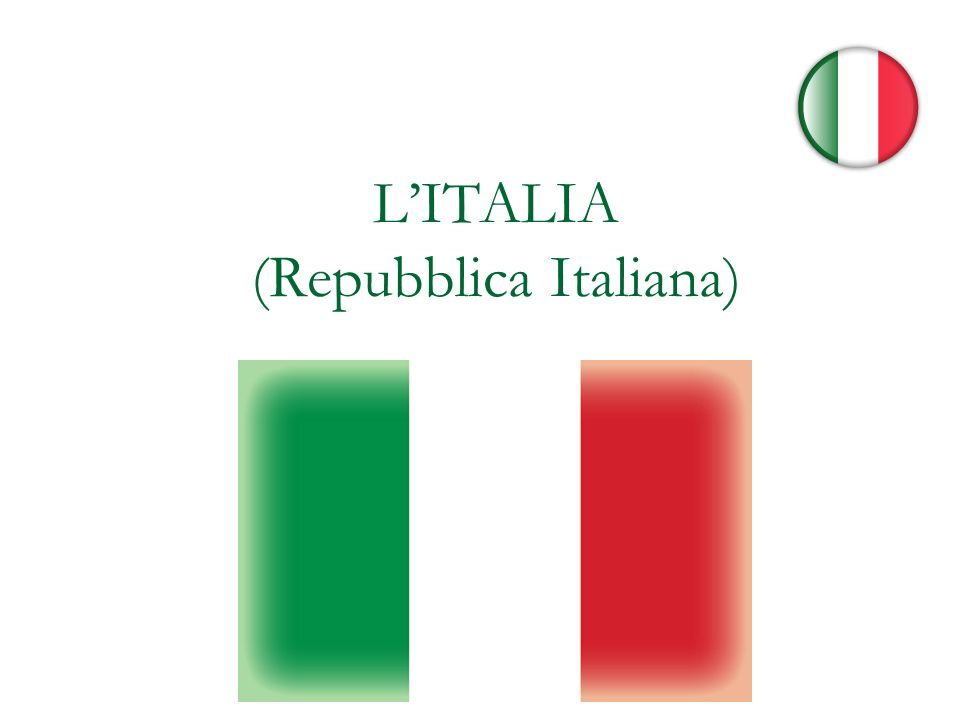 L'ITALIA (Repubblica Italiana)