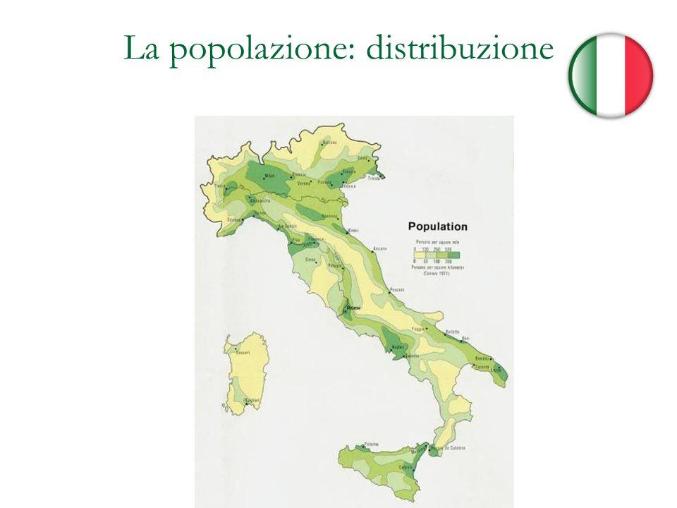 La popolazione: distribuzione
