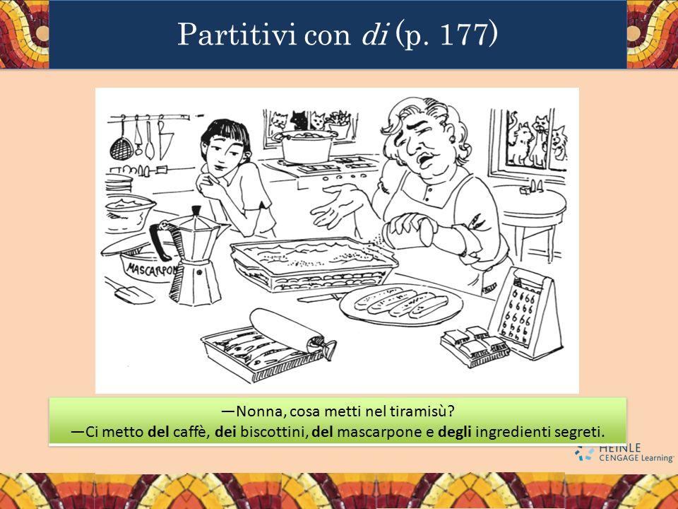 Partitivi con di (p. 177)