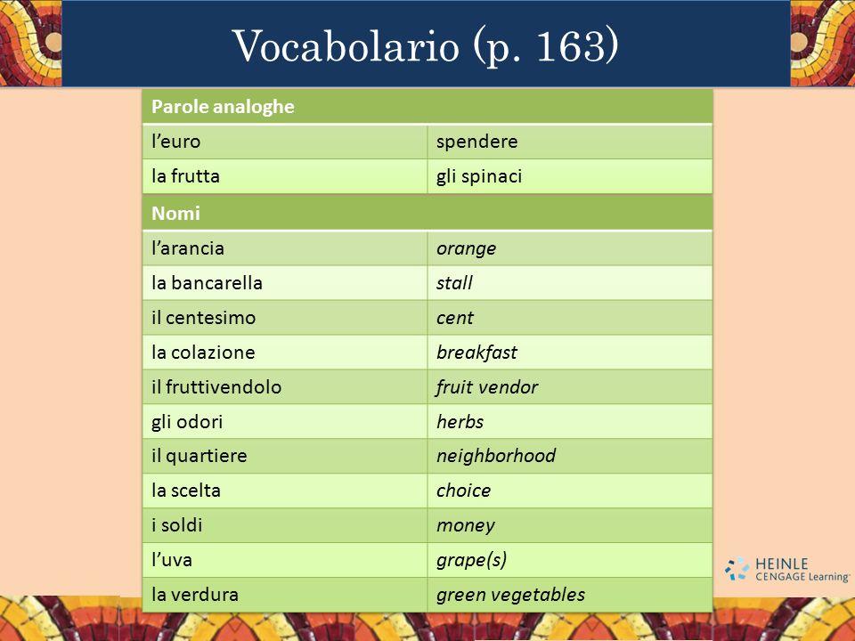 Vocabolario (p. 163)