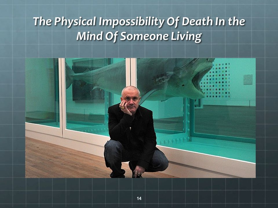 The Physical Impossibility Of Death In the Mind Of Someone Living 14
