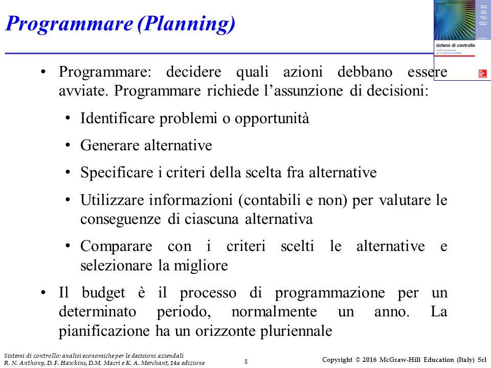 8 Sistemi di controllo: analisi economiche per le decisioni aziendali R.