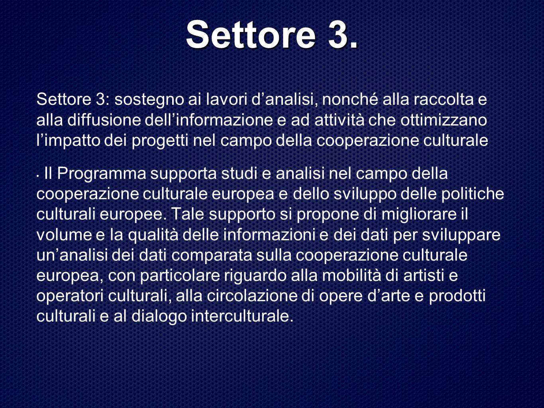 Settore 3.