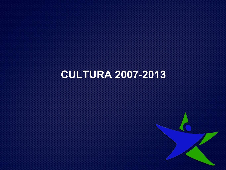 CULTURA 2007-2013