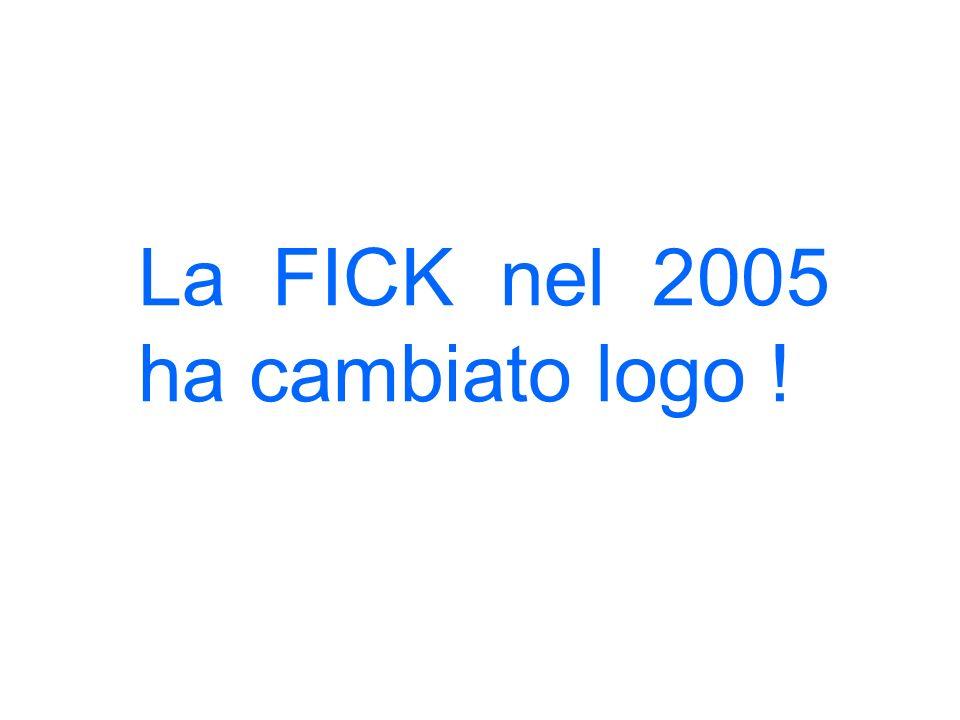 La FICK nel 2005 ha cambiato logo !