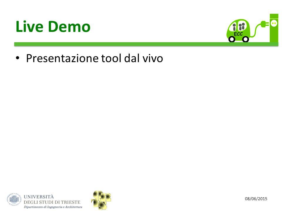 08/06/2015 Live Demo Presentazione tool dal vivo