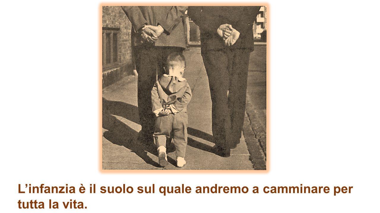 L'infanzia è il suolo sul quale andremo a camminare per tutta la vita. (Lya Luft)