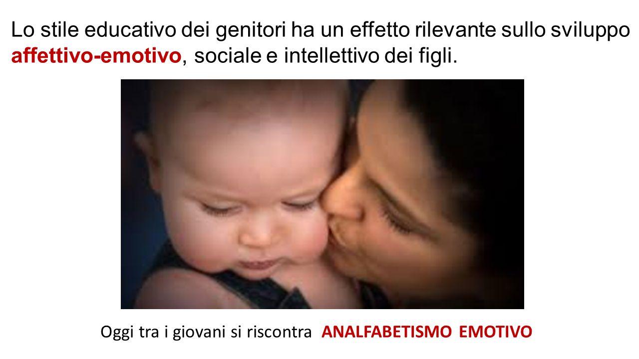 Lo stile educativo dei genitori ha un effetto rilevante sullo sviluppo affettivo-emotivo, sociale e intellettivo dei figli. Oggi tra i giovani si risc