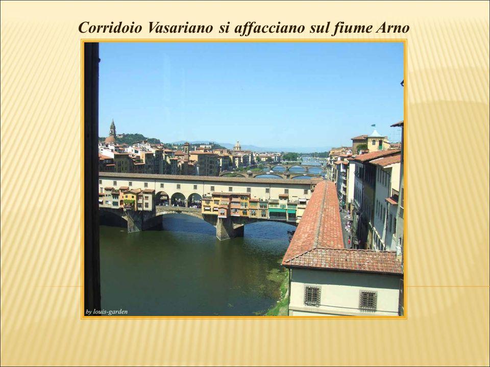 Corridoio Vasariano over Ponte Vecchio