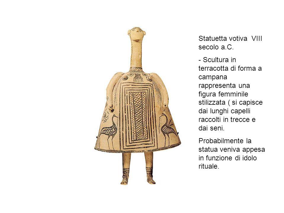 Statuetta votiva VIII secolo a.C.
