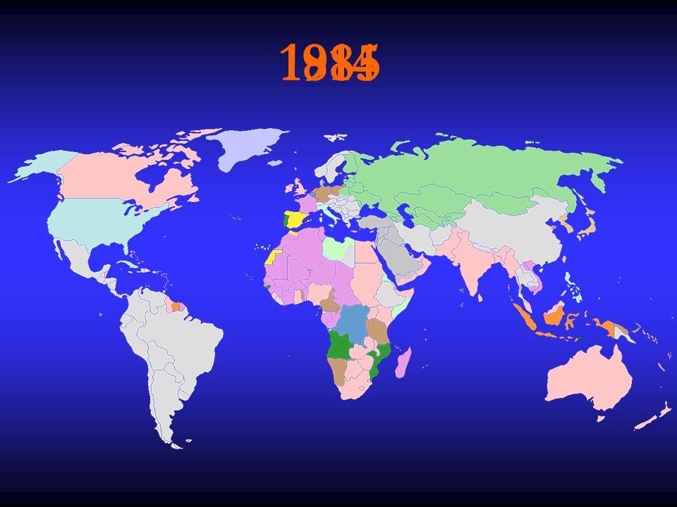 Le origini del colonialismo Nell'ultimo ventennio dell'800 si verifica un risveglio dell'interesse coloniale che porta alla completa spartizione di Africa e Asia.