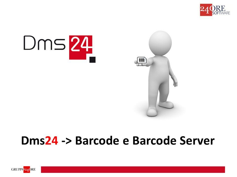 Dms24 -> Barcode e Barcode Server