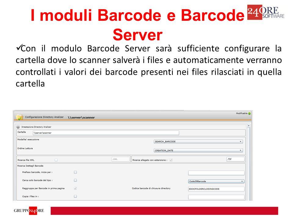 Dms24 : Moduli Barcode e Barcode Server Release 2.1.0