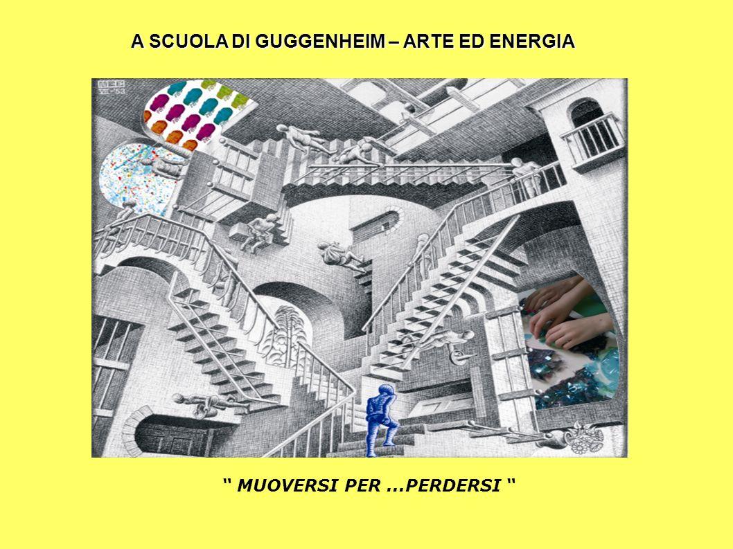 """ MUOVERSI PER...PERDERSI "" A SCUOLA DI GUGGENHEIM – ARTE ED ENERGIA"