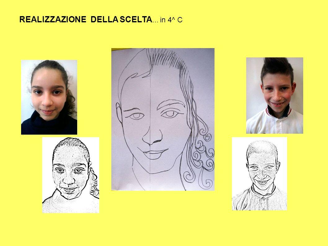 REALIZZAZIONE DELLA SCELTA... in 4^ C