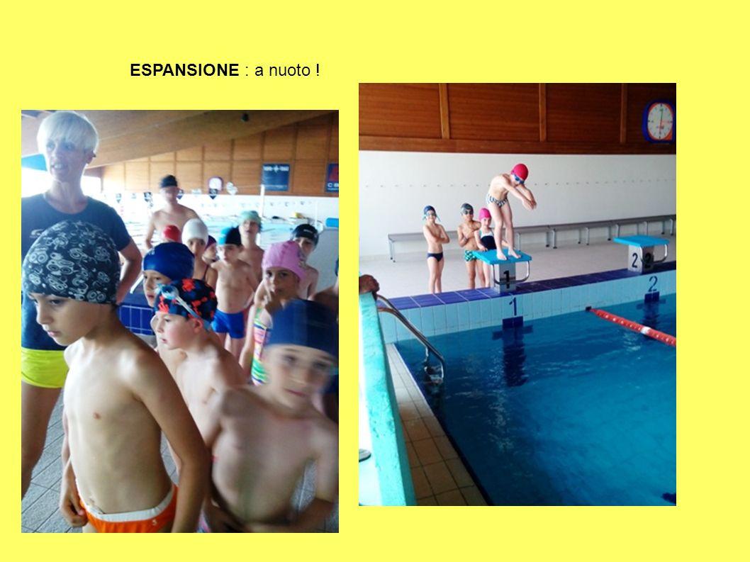 ESPANSIONE : a nuoto !