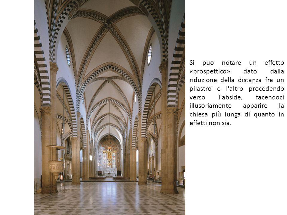 Santa Croce, Firenze Il progetto è tradizionalmente attribuito a un grande architetto e scultore toscano, Arnolfo di Cambio.