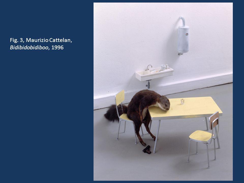 Fig. 4, Maurizio Cattelan, Untitled, 2001