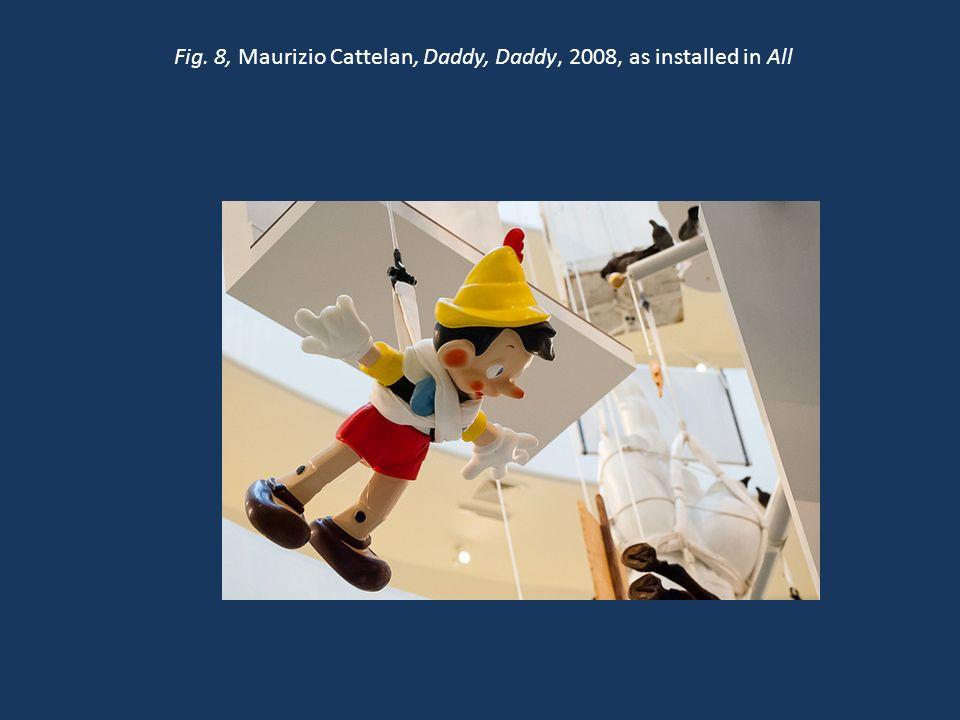 Fig. 18, Maurizio Cattelan, Ave Maria, 2007