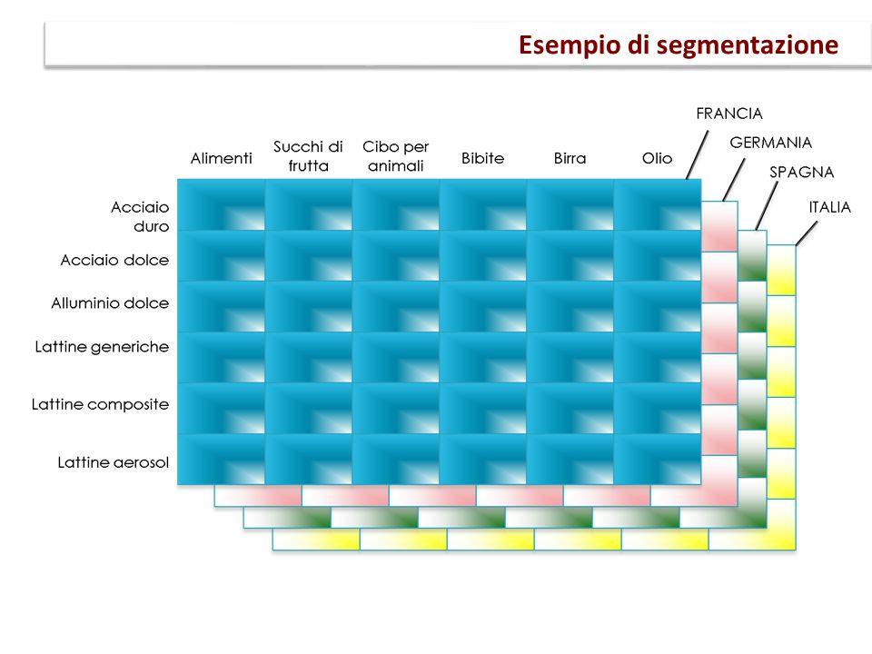 Esempio di segmentazione