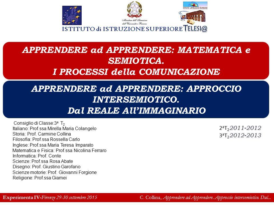 IIS Telesi@ Italiano:  Costruzione e decostruzione dei testi.