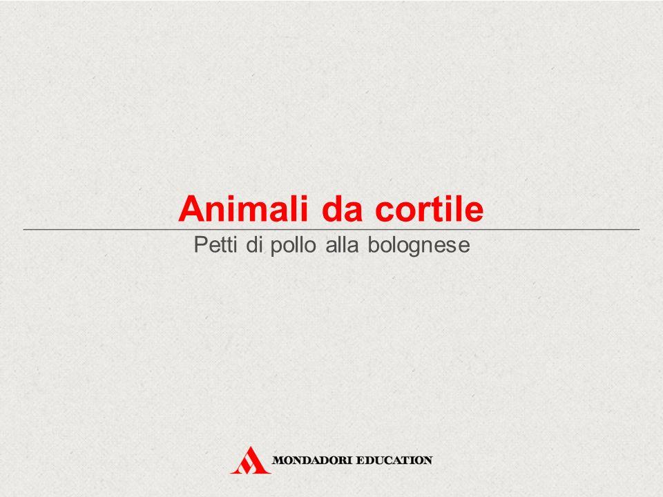 Animali da cortile Petti di pollo alla bolognese