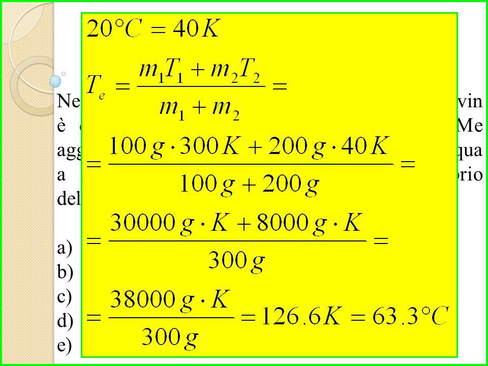 Nel pianeta SeeYou il rapporto tra Celsius e Kelvin è di 1 a 2.