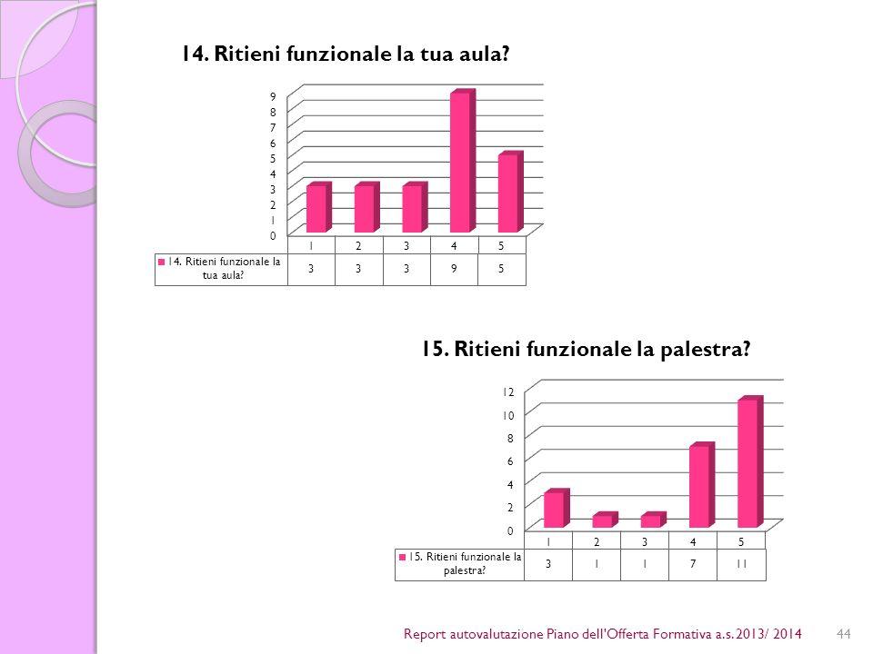 44Report autovalutazione Piano dell Offerta Formativa a.s. 2013/ 2014