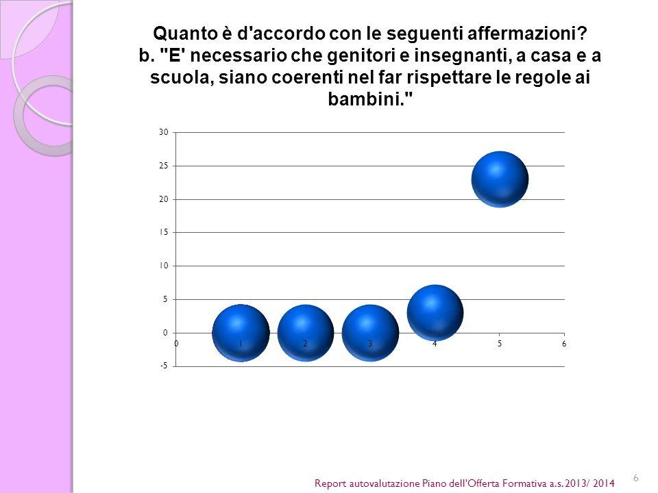 6 Report autovalutazione Piano dell Offerta Formativa a.s.