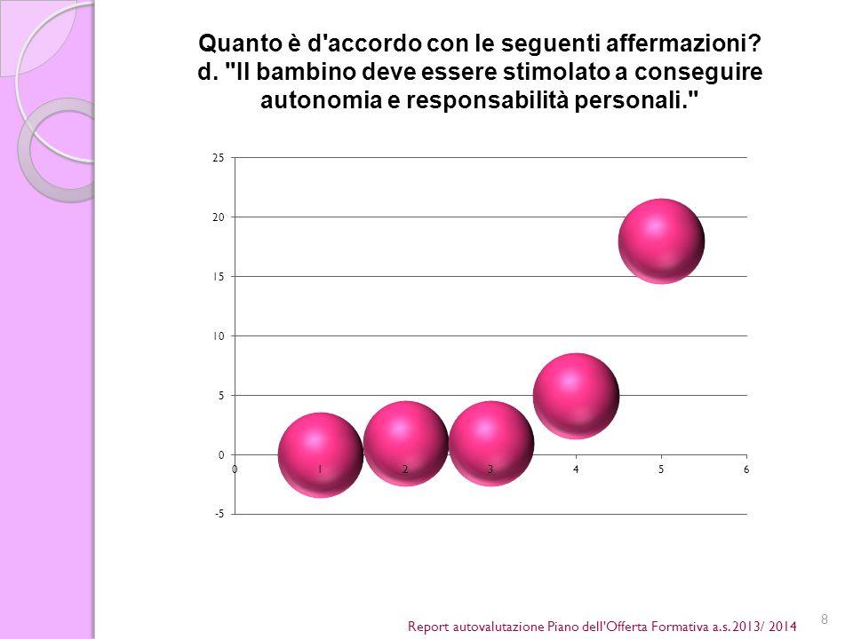 8 Report autovalutazione Piano dell Offerta Formativa a.s.
