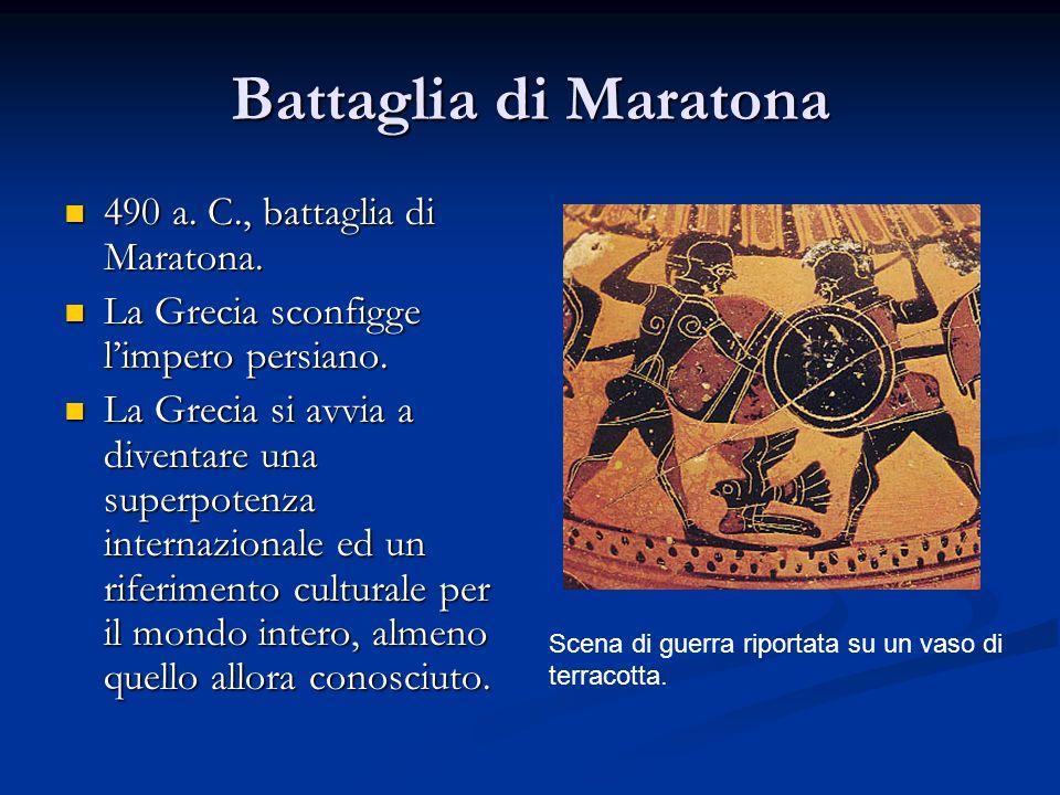 Battaglia di Maratona 490 a. C., battaglia di Maratona. 490 a. C., battaglia di Maratona. La Grecia sconfigge l'impero persiano. La Grecia sconfigge l