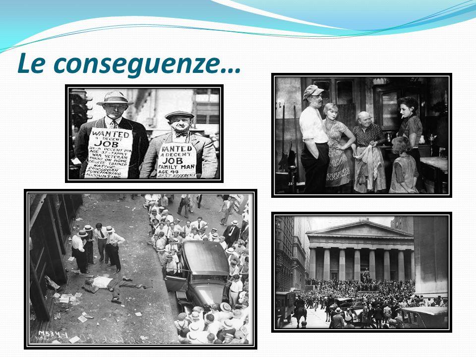 Le conseguenze…