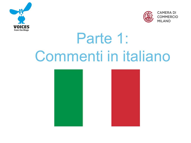 Parte 1: Commenti in italiano