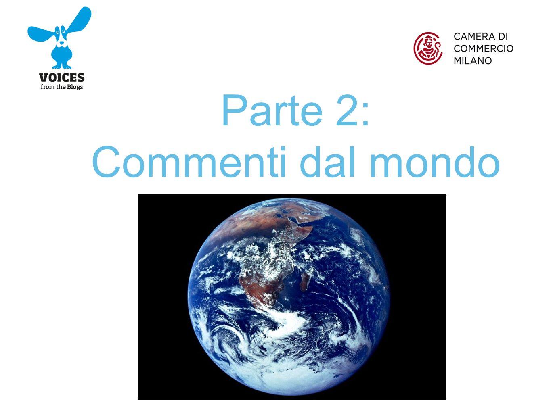 I segnali di ottimismo: il brand Milano nel mondo funziona Soprattutto da Stati Uniti (44% dei commenti su Expo), Russia (4%), Regno Unito e Paesi Bassi (3%), Francia, Giappone e Spagna (1%).